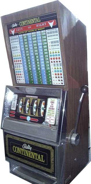 california legal slot machines