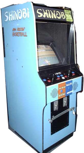 shinobi arcade machine